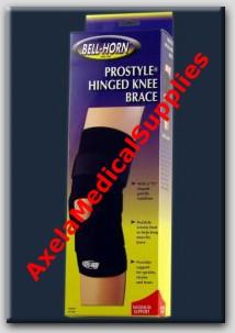 9ec57e96a8 Bell-Horn ProStyle Hinged Knee Brace - Detail information