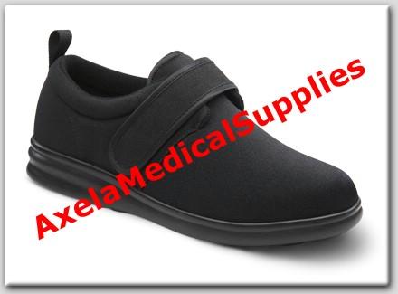 Dr. Comfort Marla Diabetic Womens Shoes Black Lycra