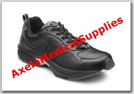 d1b054469c5bef Dr. Comfort Champion Plus Mens Diabetic Shoes Black Leather