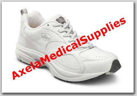 ba6ea6ebf92dfe Dr. Comfort Champion Plus Mens Diabetic Shoes White Leather