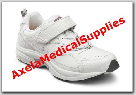 9c14fc401428ac Dr. Comfort Champion Mens Diabetic Shoes White Leather