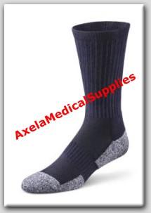 fd7e8c90fc Dr. Comfort Crew Length Diabetic Socks Navy - Detail information