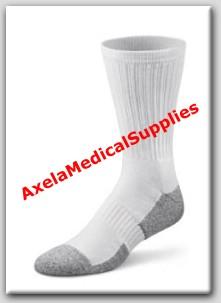04fef38b40 Dr. Comfort Crew Length Diabetic Socks White - Detail information