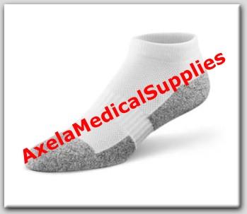 6e8b37acf Dr. Comfort No Show Diabetic Socks White - Detail information