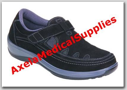 7775b8cb36 OrthoFeet Serene 891 Womens Diabetic Shoes Black